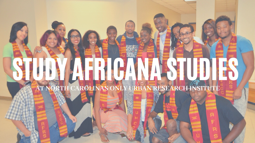 Study Africana Studies at NC's Only Urban Research Institute