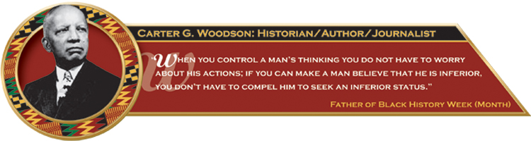 Carter G. Woodson quote